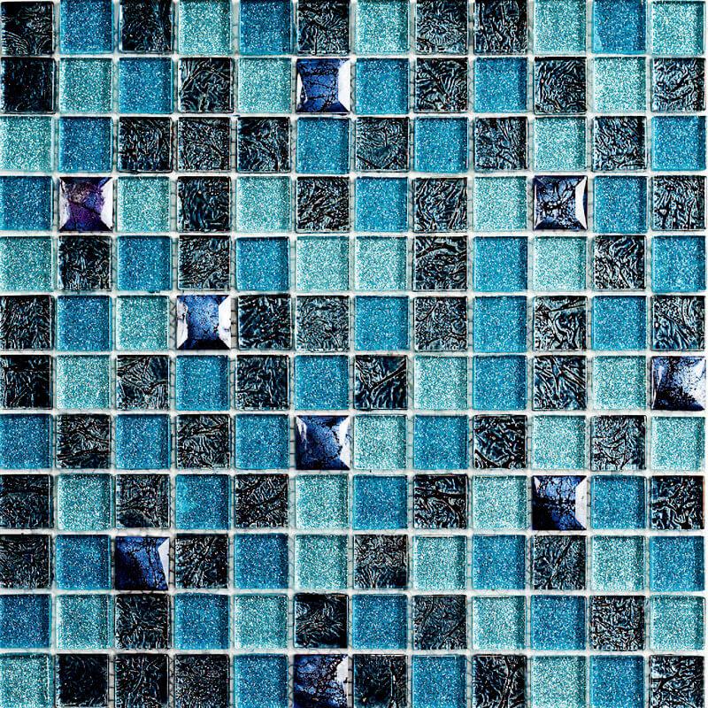Мозаика для кухни из стекла