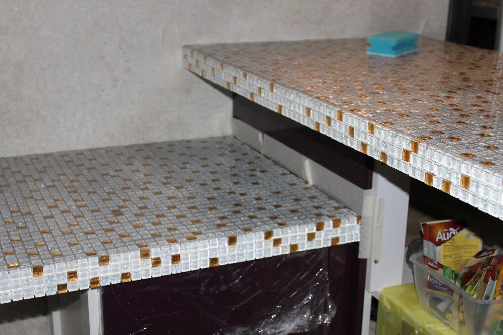 Столешницы из мозаики