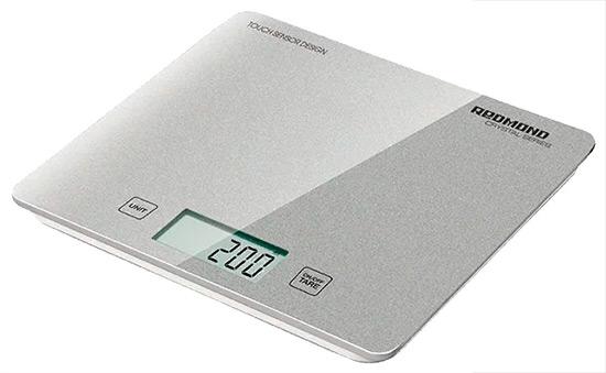 Электронные весы на рабочей платформе REDMOND RS-724-E