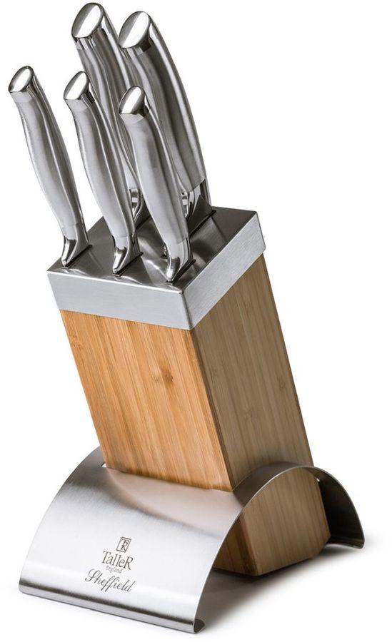Набор Taller Sheffield из 5 ножей на подставке