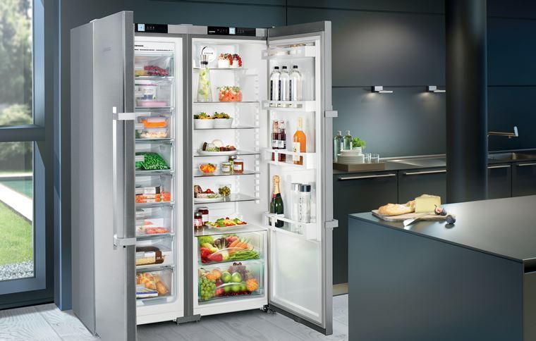 Большой холодильник